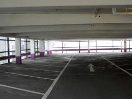 Parkhaus von innen