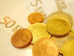 Geld in Großaufnahme