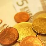 Euromünzen und Scheine