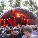 Festivalbühne Open-Air-Konzert