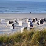 Strand mit Strandkörben