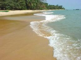Strand in Sierra Leone