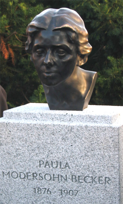 Paula Modersohn-Becker Kunstpreis 2018, Paula Modersohn-Becker-Büste