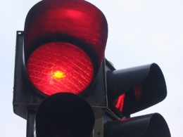 rotes Ampellicht